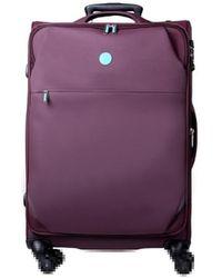 Słoń Torbalski 040101w10 Soft Suitcase - Purple