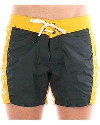 Rrd MAESTRALE COLOR hommes Maillots de bain en jaune - Multicolore