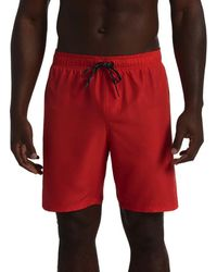 Nike COSTUME ROSSO Maillots de bain - Rouge