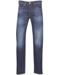 DIESEL Straight Jeans Buster - Blauw