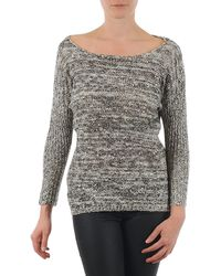 Y.A.S Amilia Knit Pullover Women's Jumper In Beige - Natural