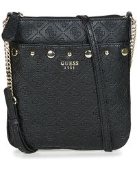 Guess - Coast To Coast Tourist Women's Pouch In Black - Lyst