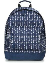 Mi-Pac - Arrows Women's Backpack In Blue - Lyst