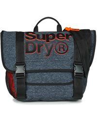 Superdry Nation Messenger Messenger Bag - Grey