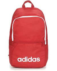 adidas Rugzak Linear Classic Daily Backpack - Rood