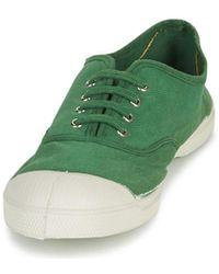 Bensimon Baskets - Vert