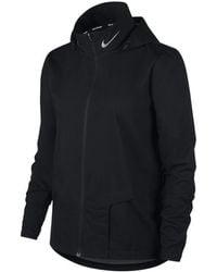 Nike W Shield Jacket Hd - Black