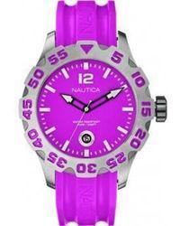 Nautica Armbanduhr UR - A14607G - Lila