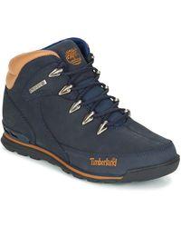 Timberland Laarzen Euro Rock Hiker - Blauw