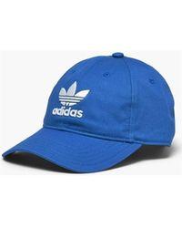 adidas Pet Trefoil Classic Cap - Blauw