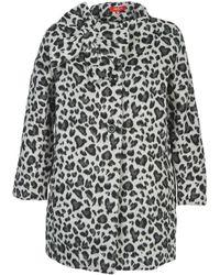 Rene' Derhy - Nadar Women's Coat In Grey - Lyst