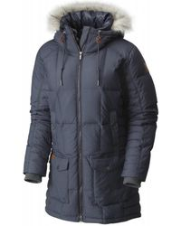 Columbia Della Fall Mid Jacket Women's Coat In Multicolour - Blue