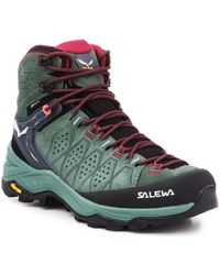 Salewa WS Alp Trainer 2 Mid Gtx Chaussures - Multicolore
