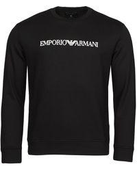 Emporio Armani 8N1MR6 Sweat-shirt - Noir