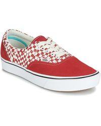 Vans Zapatillas Tear Check Comfycush Era - Rojo