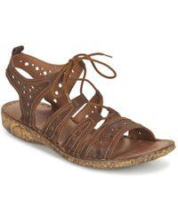 Josef Seibel - Rosalie 15 Women's Sandals In Brown - Lyst