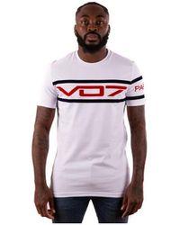 Vo7 T-shirt FLAG 33 - Blanc