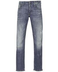 G-Star RAW Straight Jeans 3301 Straight - Blauw