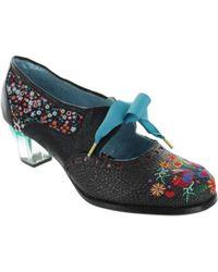Poetic Licence - Birdie Bop Women's Court Shoes In Black - Lyst