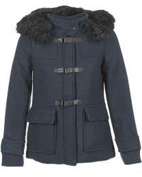 Vero Moda - Lindsay Women's Coat In Blue - Lyst