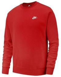 Nike Jersey Club Crew - Rojo