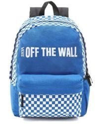 Vans - Mochila Central Realm Men's Backpack In Blue - Lyst
