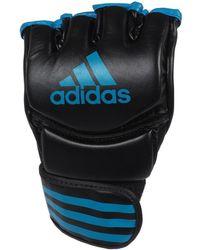 adidas Mma noir/bleu gants boxe hommes Gants en Noir