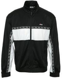 Fila Trainingsjack Hachiro Track Jacket - Zwart
