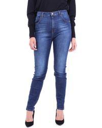 Manila Grace W0ZJ404D6 Jeans - Bleu