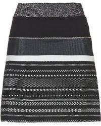 Desigual - Caros Women's Skirt In Black - Lyst