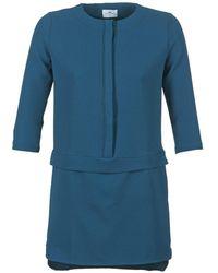 Loreak Mendian ONA femmes Robe en bleu