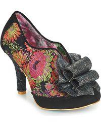 Irregular Choice Zapatos de tacón PRETTY PRESENT - Negro