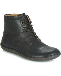 Kickers Laarzen Hobbytwo - Zwart