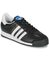 adidas Lage Sneakers Samoa - Zwart