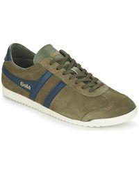 Gola Lage Sneakers Bullet Suede - Groen