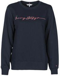 Tommy Hilfiger ANNIE RELAXED C-NK SWEATSHIRT LS Sweat-shirt - Bleu