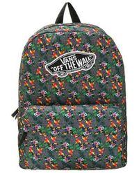 Vans - Mochila Old Skool Ii (v0onikws) - Blue Mirage Women s Backpack In  Multicolour 06a998ed847