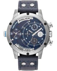 Police - PL15983JS.03, Quartz, 50mm, 5ATM Montre - Lyst