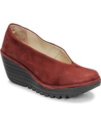 Fly London Pumps Yaz - Rood