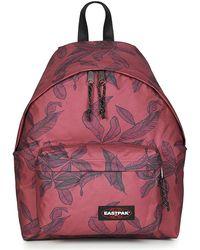 Eastpak - PADDED PAK'R 24L femmes Sac à dos en rouge - Lyst