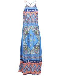 Roxy - Summerfleet Women's Long Dress In Multicolour - Lyst