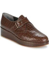 Robert Clergerie Zapatos Mujer NONKA-V.COCCO-CHOCOLAT - Marrón