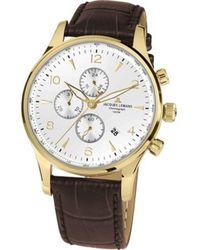 Jacques Lemans Armbanduhr 1-1844ZD - Mettallic