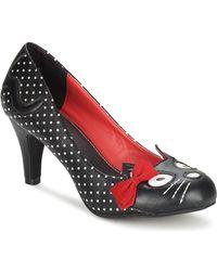 T.U.K. - Kitty Sweet Jane Women's Court Shoes In Black - Lyst