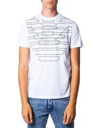 Armani T-shirt 3G1T69 1J19Z - Blanc