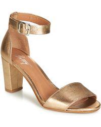b0e550818a6a Clarks Acina Newport Women s Sandals In Gold in Metallic - Lyst