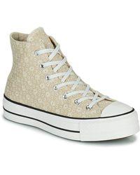 Converse Zapatillas altas CHUCK TAYLOR ALL STAR LIFT CANVAS BRODERIE HI - Neutro