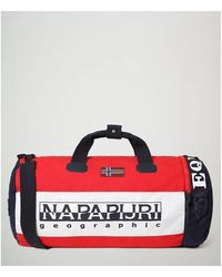 Napapijri Hering Duffle - Np0a4e47 Travel Bag - Red