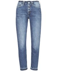 Pepe Jeans Straight Jeans Mary Revive - Blauw