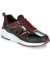 Superdry Lage Sneakers Urban Street Runner - Zwart